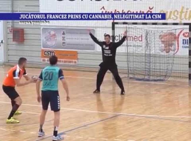 Jucatorul francez prins cu cannabis, nelegitimat la CSM – 5 iunie 2020