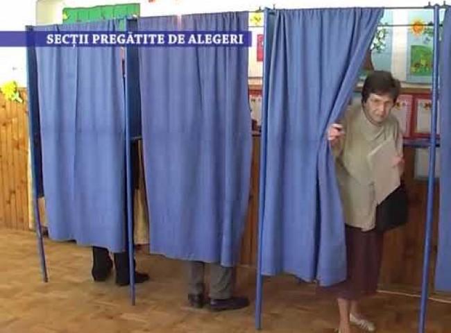 Sectii pregatite de alegeri – 25 septembrie 2020