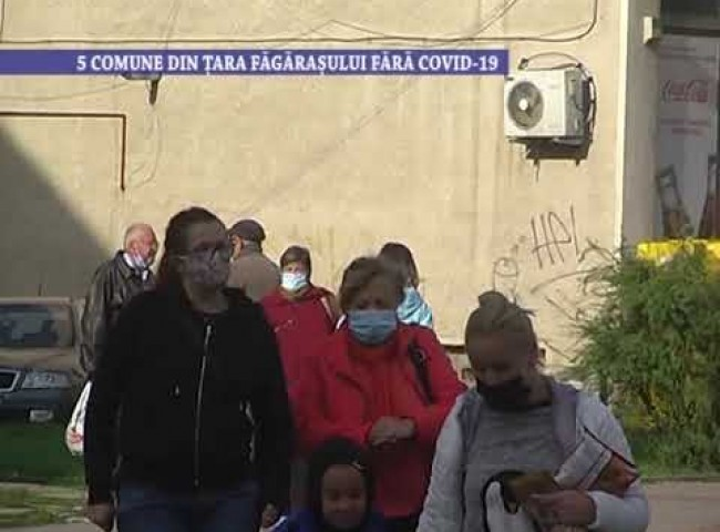5 comune din Țara Făgărașului fără Covid-19 – 21 octombrie 2020