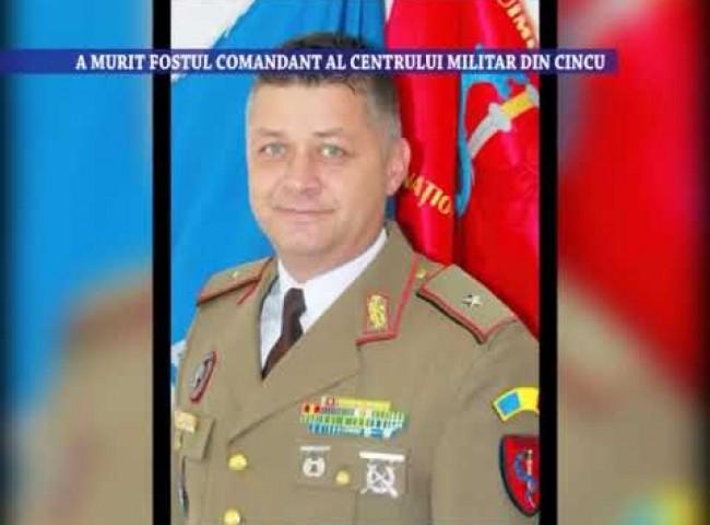 A murit fostul comandant al centrului militar din Cincu – 19 octombrie 2020