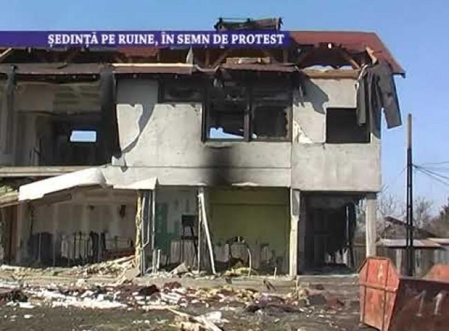 Sedinta pe ruine, in semn de protest – 11 mai 2021