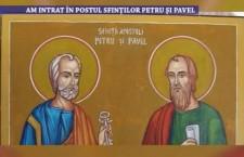 Am intrat in Postul Sfintilor Petru si Pavel – 22 iunie 2021