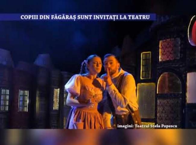 Copiii din Fagaras sunt invitati la teatru – 29 iulie 2021