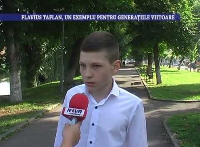 Flavius Taflan, un exemplu pentru generatiile viitoare – 28 iulie 2021