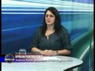Emisiune Media Obiectiv – Sprijin pentru femei, Andreea Suciu presedintele OFSD Fagaras PSD – 15 octombrie 2014