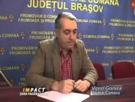 Emisiune Impact Tara Fagarasului – Viorel Grusea, primar Comana – 24 februarie 2015