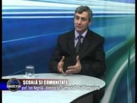 Emisiune Media Obiectiv, Scoala si comunitate, prof. Ion Negrila dir. Sc. Gimnaziala Ovid Densusianu – 23 martie 2015