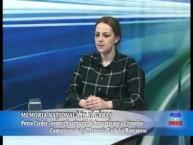 """Emisiune Plus si Minus """"Memoria nationala in Fagaras"""" – Petra Cirdei, expert Institutul de Investigare a Crimelor Comunismului si Memoria Exilului Romanesc – 8 aprilie 2015"""