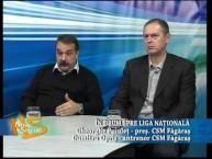 "Emisiune Nova Special – ""In drum spre Liga Nationala"" – Gheorghe Puiulet, pres. CSM Fagaras; Dumitru Opris, antrenor CSM Fagaras – 4 februarie 2016"