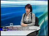 Emisiune Media Obiectiv – Prima proba, trecuta cu brio – prof. Liliana Spiridon, dir. Colegiul Aurel Vijoli – 17 octombrie 2016