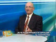 "Emisiune Nova Special – ""Nu ne putem intoarce in capitalism"", ing. Constantin Popa – 20 octombrie 2016"