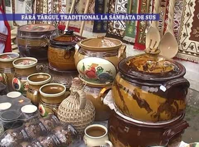 Fara targul traditional la Sambata de Sus – 7 mai 2021