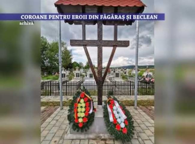Coroane pentru eroii din Fagaras si Beclean – 10 iunie 2021