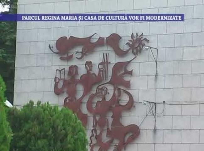 Parcul Regina Maria si Casa de Cultura vor fi modernizate – 10 iunie 2021