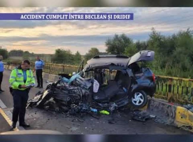 Accident cumplit intre Beclean si Dridif – 3 august 2021