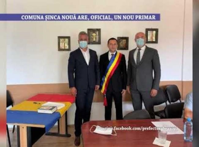 Comuna Sinca Noua are, oficial, un nou primar – 3 august 2021