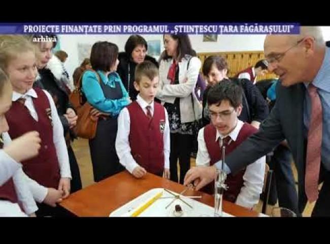 Proiecte finantate prin programul Stiintescu Tara Fagarasului – 3 august 2021