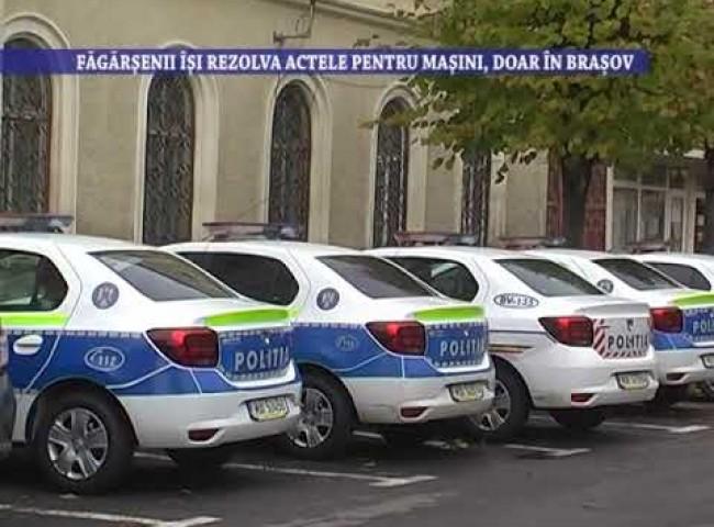 Fagarasenii isi rezolva actele pentru masini, doar in Brasov – 22 septembrie 2021