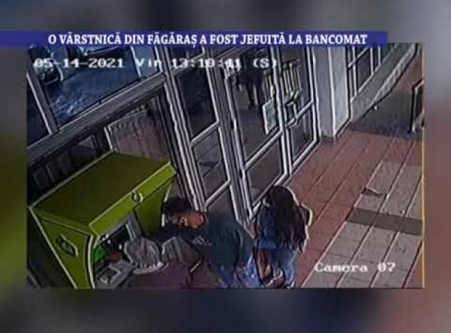 O varstnica din Fagaras a fost jefuita la bancomat – 23 septembrie 2021